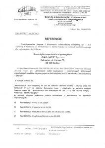 Referencje PNUIK Kraków str. 1
