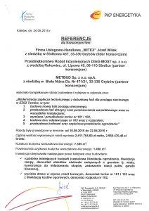 Referencje PKP Energetyka str. 1