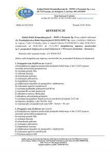 Referencje ZRK Poznań str. 1